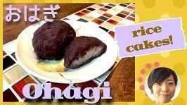 Ohagi rice cakes