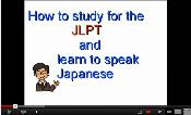 How to study for the JLPT and speak Japanese video image
